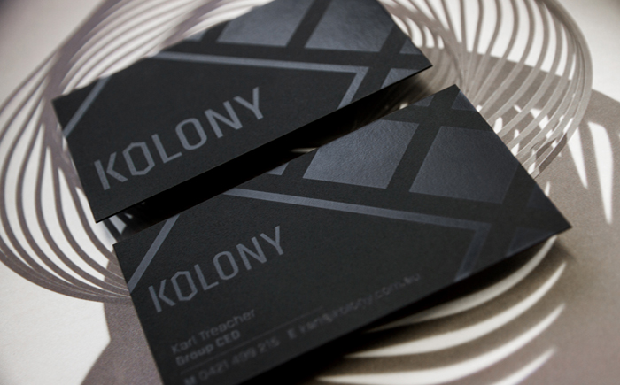 Kolony Business Cards
