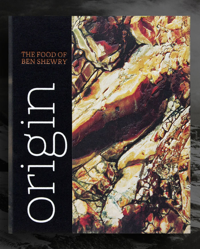 Origin - Ben Shewry - Publication Design